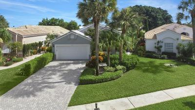 Boynton Beach Single Family Home For Sale: 11817 Fountainside Circle