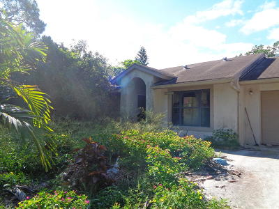 Royal Palm Beach Single Family Home For Auction: 12820 59th Street