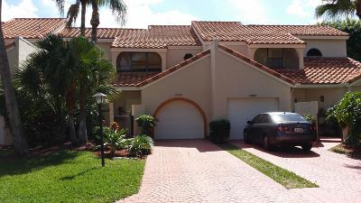 Boca Raton Townhouse For Sale: 22596 Meridiana Drive