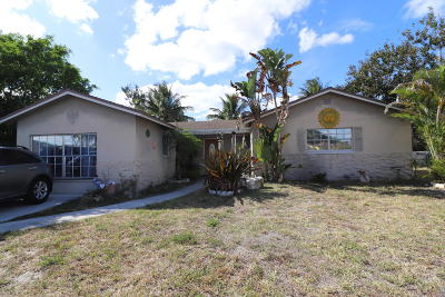 Boca Raton Single Family Home For Sale: 9035 SW 9th Street