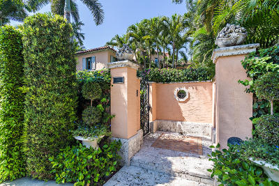 Palm Beach FL Single Family Home For Sale: $11,500,000