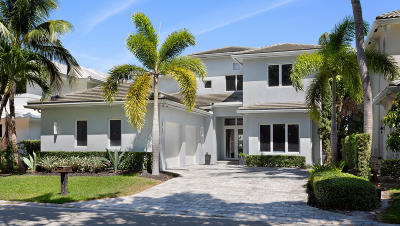 Boca Raton Single Family Home For Sale: 5302 Boca Marina Circle