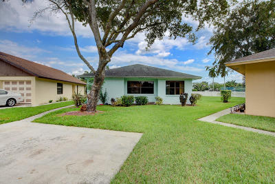 West Palm Beach Single Family Home For Sale: 1267 Summit Run Circle