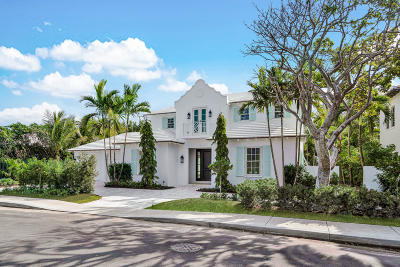 Palm Beach FL Single Family Home For Sale: $7,450,000
