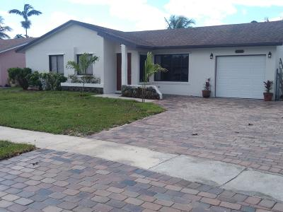 Boca Raton Single Family Home For Sale: 22546 SW 7th Street