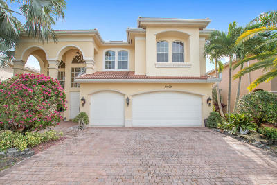 Boynton Beach Single Family Home For Sale: 11200 W Brandywine Lake Way