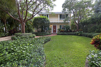 West Palm Beach Single Family Home For Sale: 214 E Lakewood Road