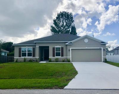 Single Family Home For Sale: 4250 SW Utterback Street