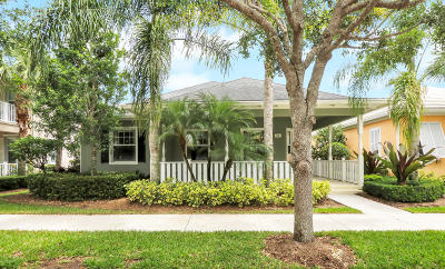 Jupiter Single Family Home For Sale: 509 Caravelle Drive