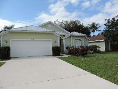 Jupiter Single Family Home For Sale: 6068 Ungerer Street