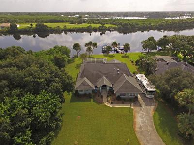 Port Saint Lucie Single Family Home For Sale: 3201 SE Lookout S Boulevard