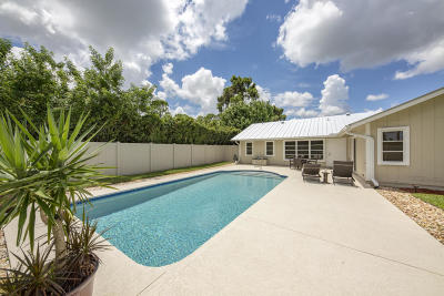 Palm City Single Family Home For Sale: 3837 SW Sailfish Drive