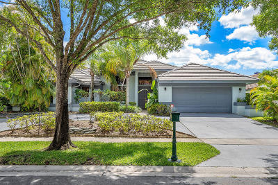 Boca Raton Single Family Home For Sale: 20556 Sausalito Drive