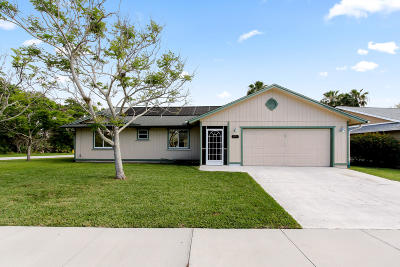 Martin County Single Family Home For Sale: 4221 SE Satinleaf Place