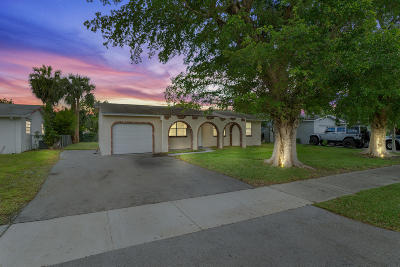 Delray Beach Single Family Home For Sale: 732 W Boulevard Chatelaine