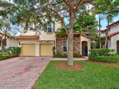 Palm Beach Gardens Single Family Home For Sale: 874 Taft Court