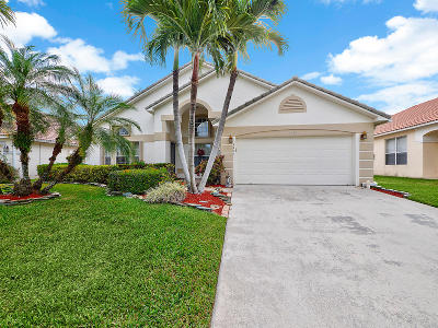 Boynton Beach Single Family Home For Sale: 4431 Sunset Cay Circle