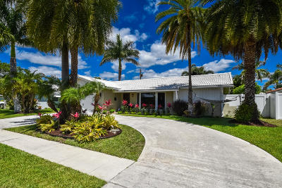 Boca Raton Single Family Home For Sale: 1161 SW 12th Street