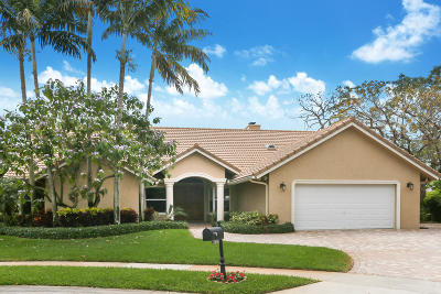 Boca Raton Single Family Home For Sale: 7618 Marbella Terrace