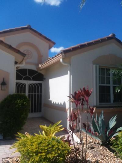 Lake Worth Single Family Home For Sale: 9269 Vercelli Street