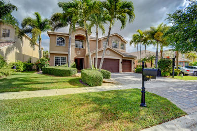 Delray Beach Single Family Home For Sale: 9527 Barletta Winds Point