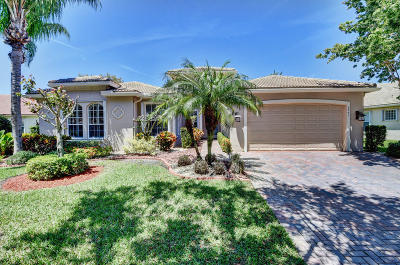 Boynton Beach Single Family Home For Sale: 6943 Great Falls Circle