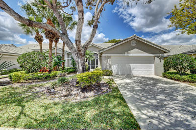 Boynton Beach Single Family Home For Sale: 8943 Brittany Lakes Drive