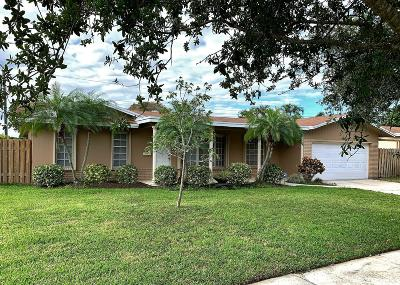Coconut Creek Single Family Home For Sale: 4440 NW 4th Court