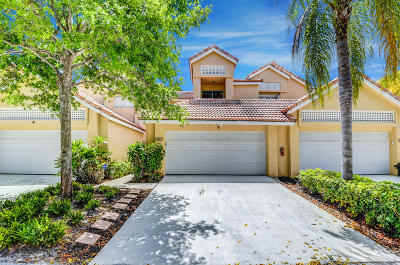 Boca Raton Townhouse For Sale: 23085 Aqua View #5
