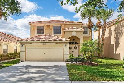 Lake Worth Single Family Home For Sale: 7638 Oak Grove Circle