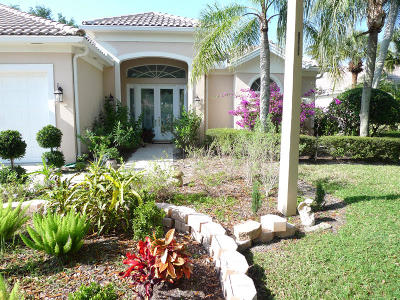 West Palm Beach Single Family Home For Sale: 1641 Flagler Manor Circle