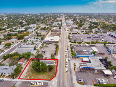 Lake Worth Single Family Home For Sale: 1432 Dixie Highway #1