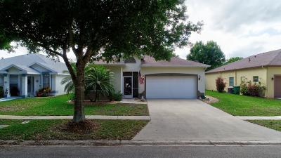 Port Saint Lucie Single Family Home For Sale: 8233 Maidencane Place