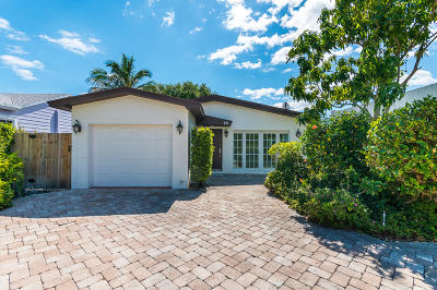Delray Beach Single Family Home For Sale: 411 NE 7th Avenue