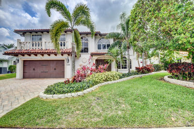 Boca Raton FL Single Family Home For Sale: $699,000