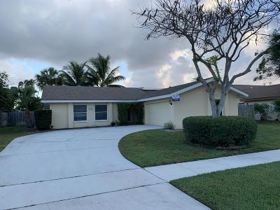 Boca Raton FL Single Family Home For Sale: $397,000