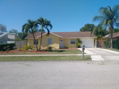 Royal Palm Beach Single Family Home For Sale: 10401 Showboat Lane