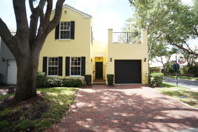 Boca Raton Townhouse For Sale: 5914 Bartram Street