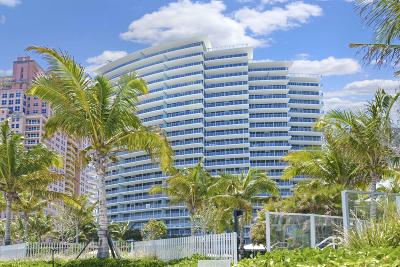 Fort Lauderdale Condo For Sale: 2200 Ocean Boulevard #S906