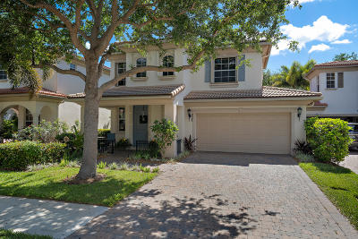 Palm Beach Gardens FL Single Family Home For Sale: $419,000