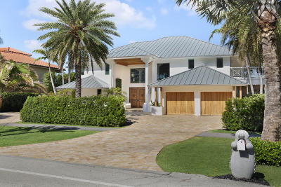 Highland Beach Single Family Home For Sale: 2540 S Ocean Boulevard