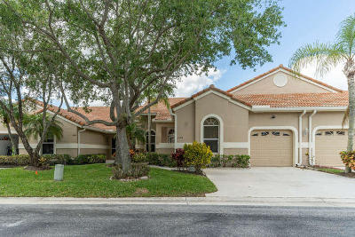 Palm Beach Gardens FL Single Family Home For Sale: $340,000