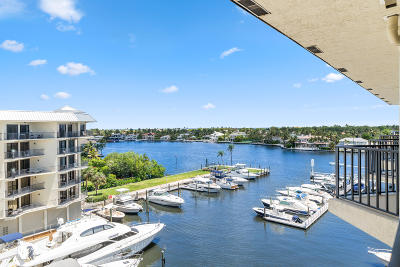 Delray Beach Condo For Sale: 1035 S Federal Highway #Ph12