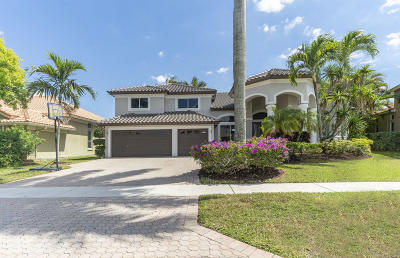 Boca Raton Single Family Home For Sale: 20160 Palm Island Drive