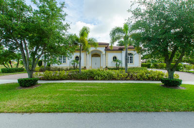 West Palm Beach Single Family Home For Sale: 3710 Embassy Drive