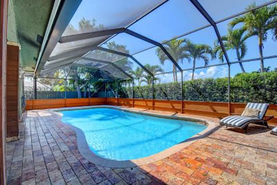 Boca Raton FL Single Family Home For Sale: $549,900