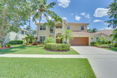 Lake Worth Single Family Home For Sale: 5345 Oakmont Village Circle