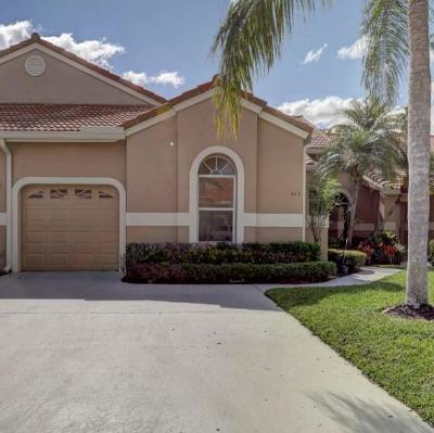 Palm Beach Gardens FL Single Family Home For Sale: $350,000