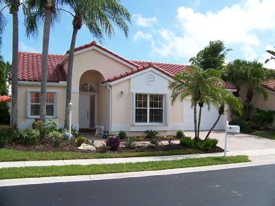 Boca Raton Single Family Home For Sale: 17260 Balboa Point Way