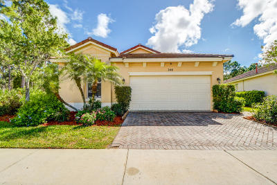 Port Saint Lucie Single Family Home Contingent: 246 SW Coconut Key Way